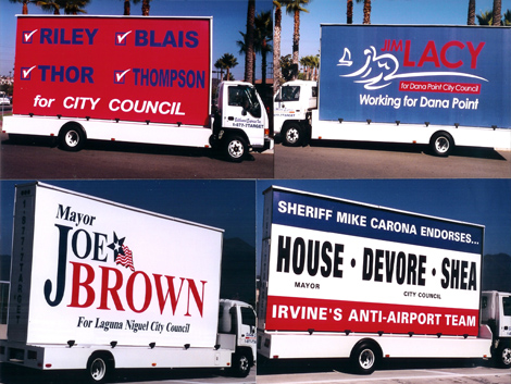 USA Mobile Billboards - The National Coverage You Need